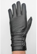 Leather Gloves - Rouge - for Mid-season